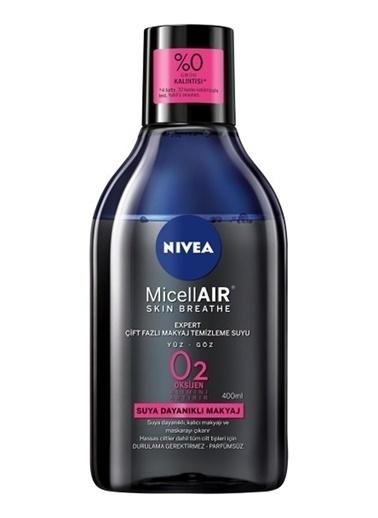 Nivea Nivea Miceallair Expert Çift Fazlı Makyaj Temizleme Suyu 400 ml Renksiz